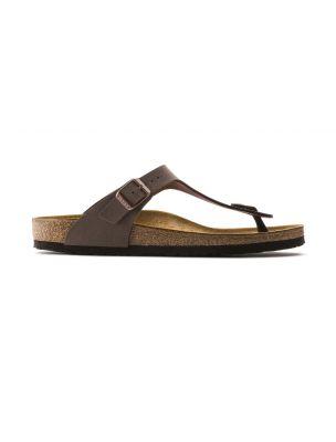 BIRK043751 Gizeh Sandals - Brown - Fabbrica Ski Sises Biella