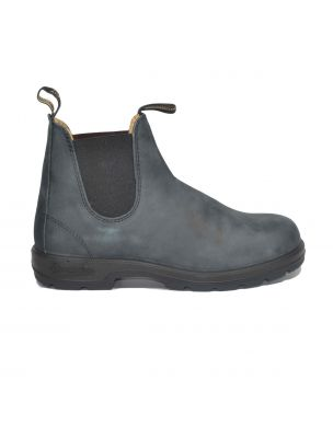 BLUNBCCAL02940587888 El Side Shoes - Black - Fabbrica Ski Sises Biella