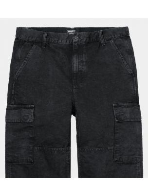 CARHI0286610089WF Men's Keyto Cargo Trousers - Black - Fabbrica Ski Sises Biella