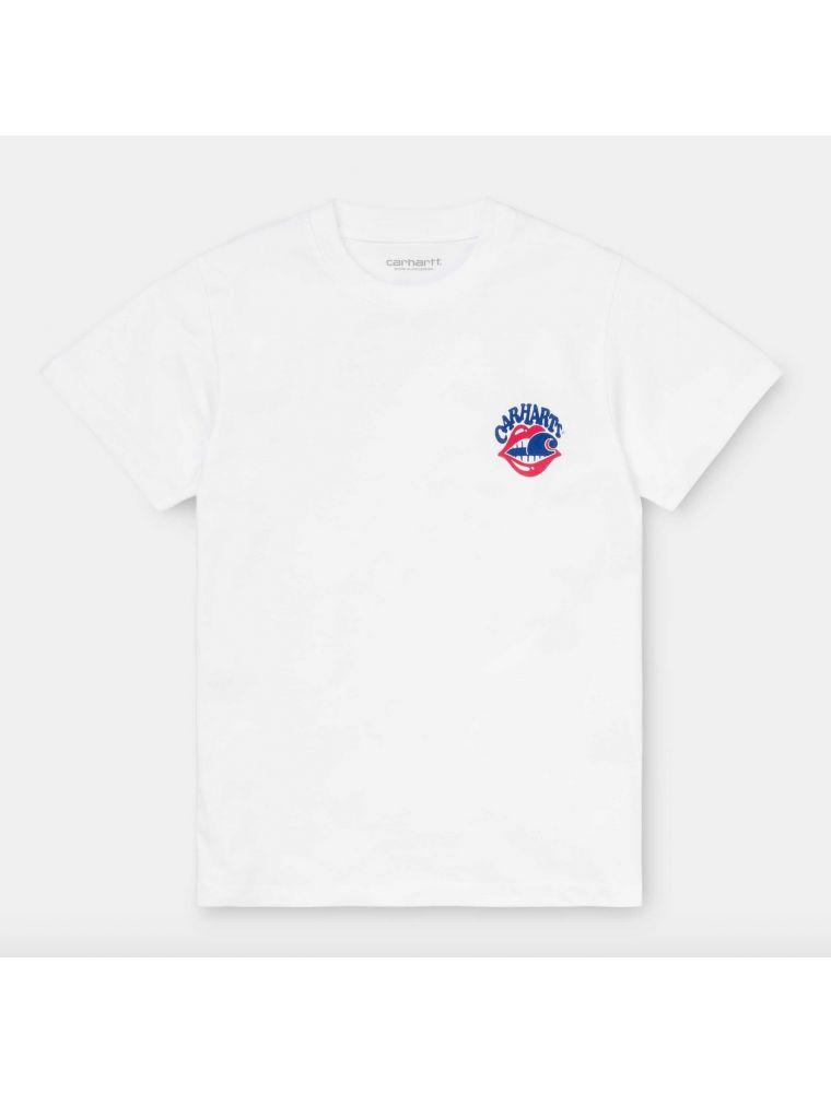 CARHI028511030200 Women's S/S Sticky T-shirt - White - Fabbrica Ski Sises Biella