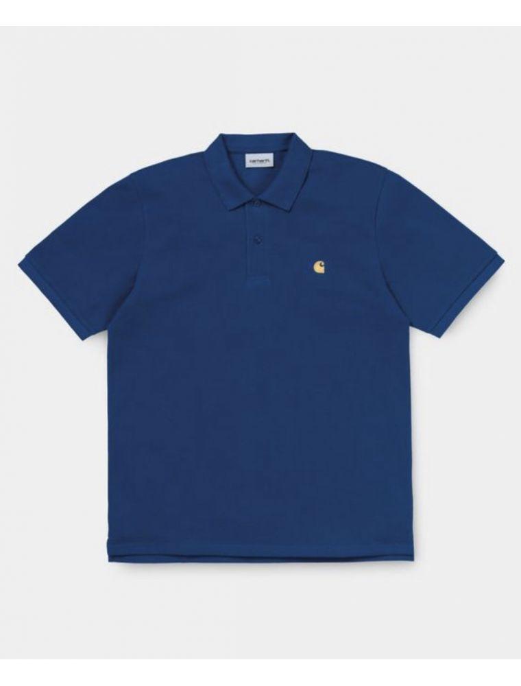 CARHI0238070308Y90 T-shirt S/S Chase Homme - Bleu Clair - Fabbrica Ski Sises Biella