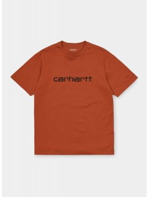 CARHI023803.030F090 T-shirt S/S Pocket Homme - Terre Cuite - Fabbrica Ski Sises Biella