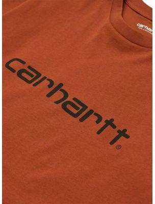 CARHI023803.030F090 Mann S/S Pocket T-shirt - Terrakotta - Fabbrica Ski Sises Biella
