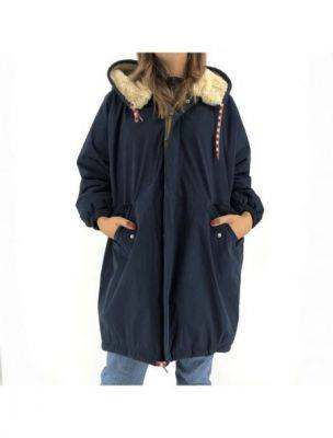 BELLLAOSF02P1133042 Women's Laos Jacket - Blue - Fabbrica Ski Sises Biella