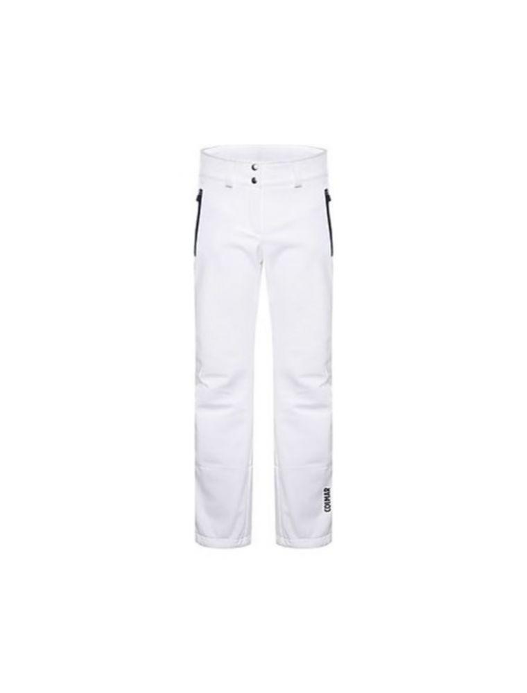 COLM0269G4KO01 Pantalones Shelly Mujer - Blanco - Fabbrica Ski Sises Biella