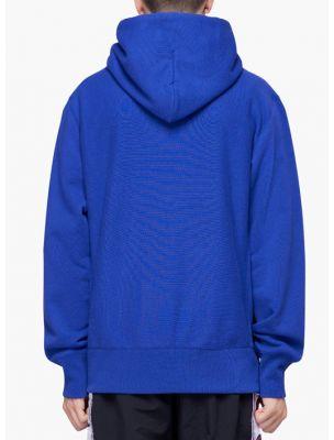 CHAM210967BS008 Sudadera Hooded Hombre - Azul - Fabbrica Ski Sises Biella