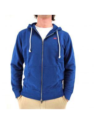 LEVI3458400030 Pull New Original Homme - Bleu - Fabbrica Ski Sises Biella