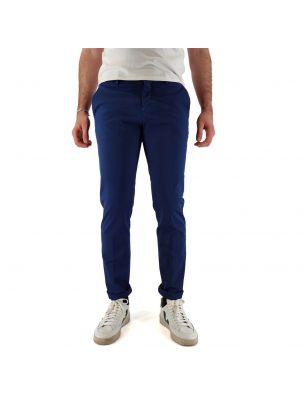 MAISMP07002MC0016032 Pantalones Mallard Hombre - Azul - Fabbrica Ski Sises Biella