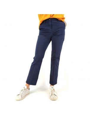 WHIT21SD0283037 Elastic Trousers - Blue - Fabbrica Ski Sises Biella