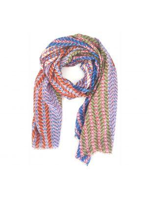 EPICPS2163-A Epice Etole 90x200 cotton/silk PS2163-A Ginger Scarf - Fabbrica Ski Sises Biella