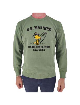 TSPT1409D Marines Sweater - Green - Fabbrica Ski Sises Biella