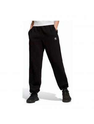 ADIDH06629 Women's Adicolor Essentials Fleece Trousers Black - Fabbrica Ski Sises Biella
