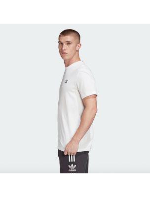 ADIDFM9966 Camiseta Trefoil Essential Hombre - Blanco - Fabbrica Ski Sises Biella