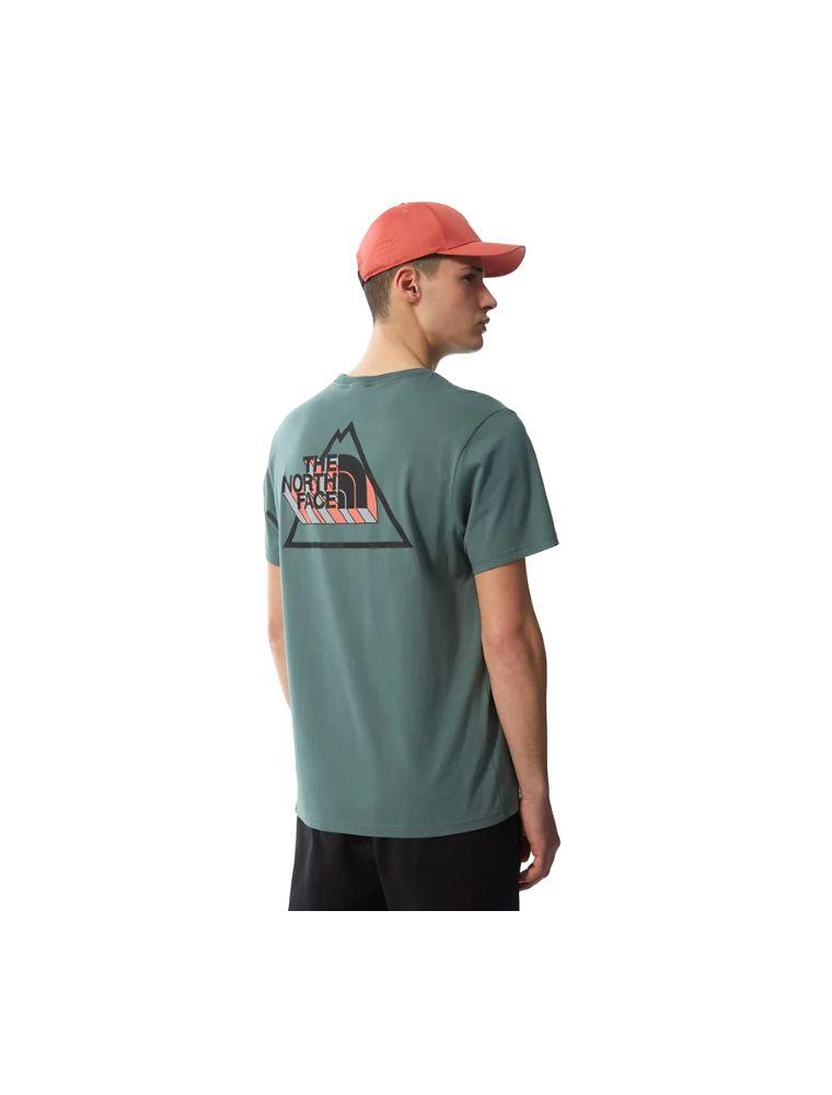 NORTNF0A5ID6HBS1 Mann Threeyama T-shirt Grün - Fabbrica Ski Sises Biella