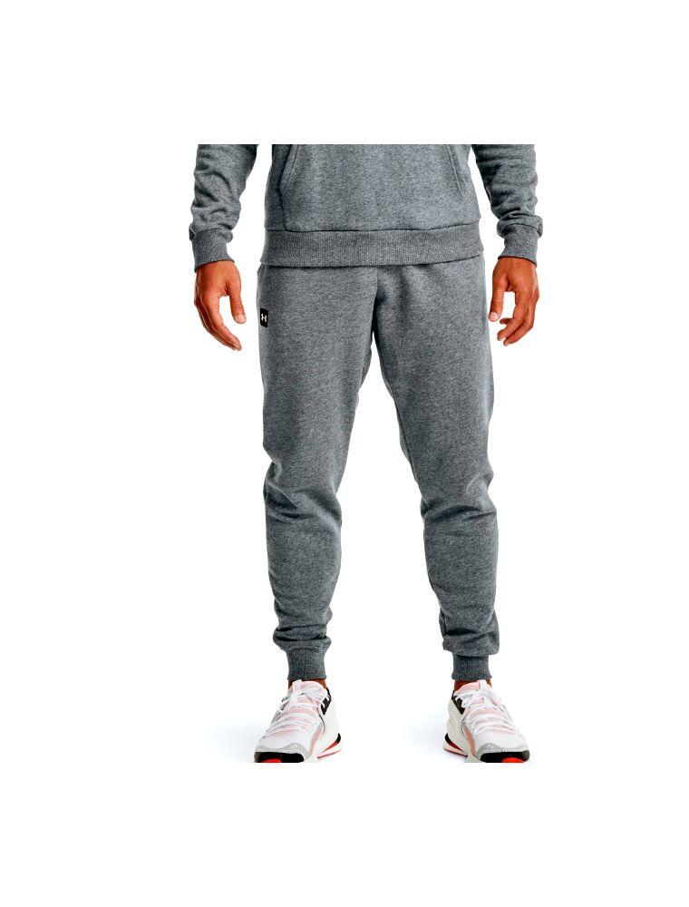 UNDE7713571280012 Men's Rival Fleece Jogger Trousers Grey - Fabbrica Ski Sises Biella