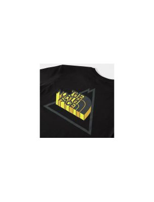 THE NORTH FACE T-shirt Threeyama Uomo Nera - Fabbrica Ski Sises Biella