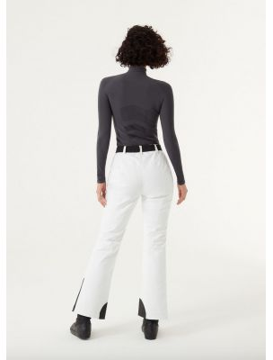 COLM04511VC01 Pantalones Sapporo-Rec Mujer - Blanco - Fabbrica Ski Sises Biella