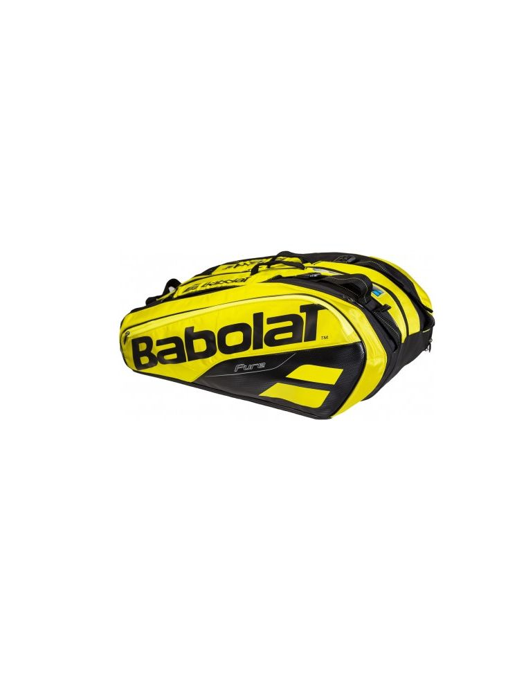 BABO751180191 Pure Aero Tennis-Tasche - Gelb - Fabbrica Ski Sises Biella