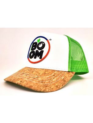 BOOMCAPPELLO Boom Cap Green - Fabbrica Ski Sises Biella