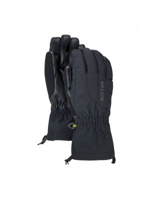 BURT10362100002 Frau WB Profile Handschuhe - Schwarz - Fabbrica Ski Sises Biella
