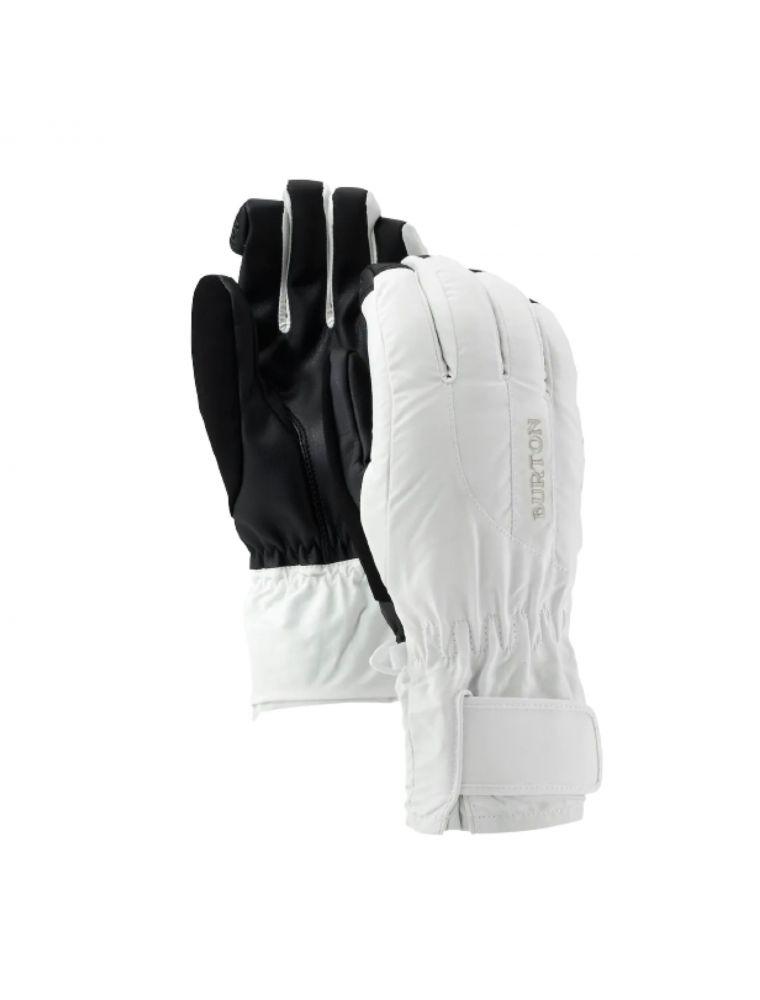 BURT10363101101 Frau WB Profile Handschuhe - Weiß - Fabbrica Ski Sises Biella