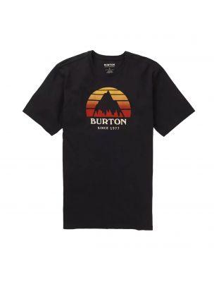 BURT20378102001 Men's Underhill SS T-shirt - Black - Fabbrica Ski Sises Biella