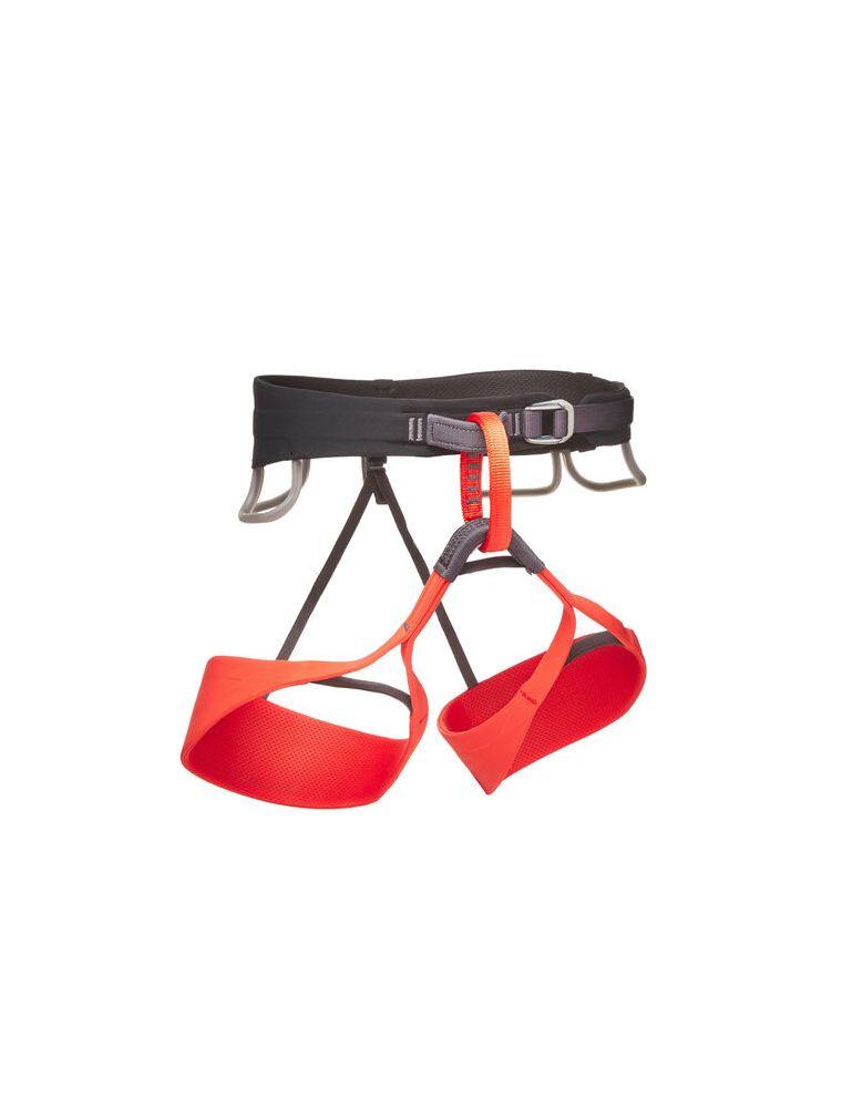 BLACBD651083 Frau Solution Klettergurt - Rot - Fabbrica Ski Sises Biella