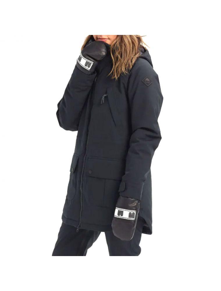 BURT10083106001 Women's Prowess Jacket - Black - Fabbrica Ski Sises Biella
