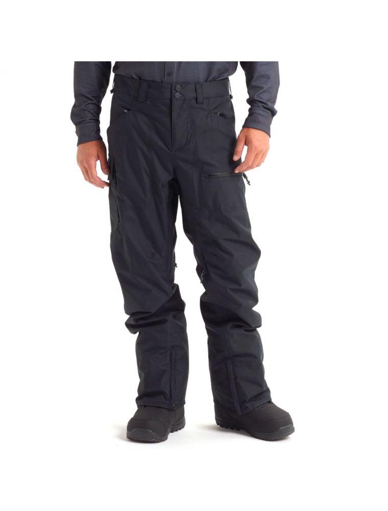 BURT13139105001 Pantalon M Covert Homme - Noir - Fabbrica Ski Sises Biella