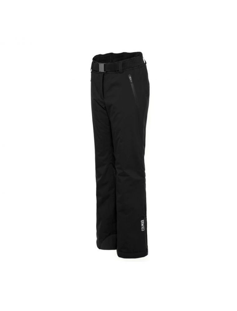 COLM04511VC99 Pantalones Sapporo-Rec Mujer - Negro - Fabbrica Ski Sises Biella