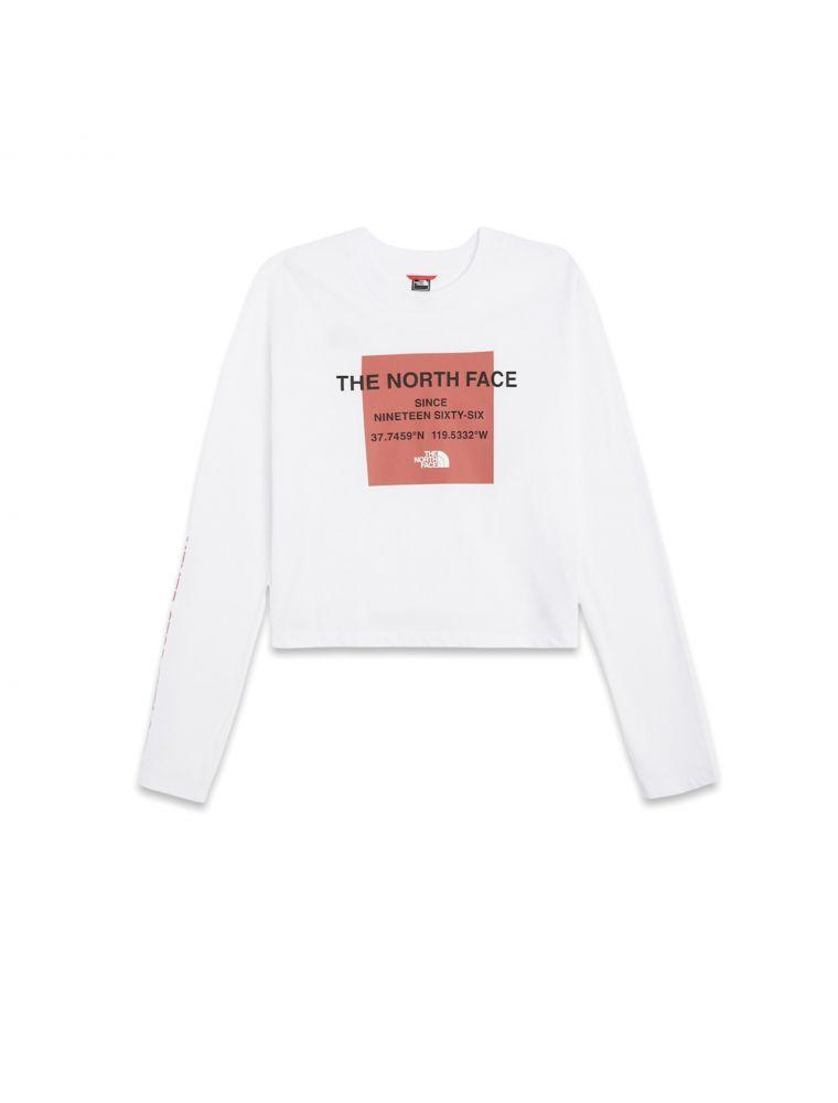NORTNF0A5ICQFN41 Women's W Coord T-shirt White - Fabbrica Ski Sises Biella