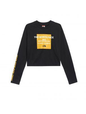 NORTNF0A5ICQJK31 Frau W Coord T-shirt Schwarz - Fabbrica Ski Sises Biella