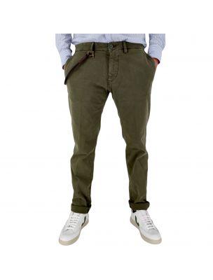 MODFMOD01ARMY Men's Carnaby Trousers Green - Fabbrica Ski Sises Biella