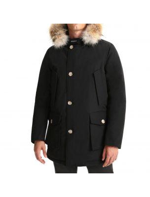 WOOLRICH Giacca Arctic Detachable Fur Parka Uomo Nera - Fabbrica Ski Sises Biella