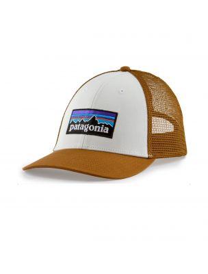 PATAGONIA Cappello P-6 Logo LoPro Trucker Marrone - Fabbrica Ski Sises Biella