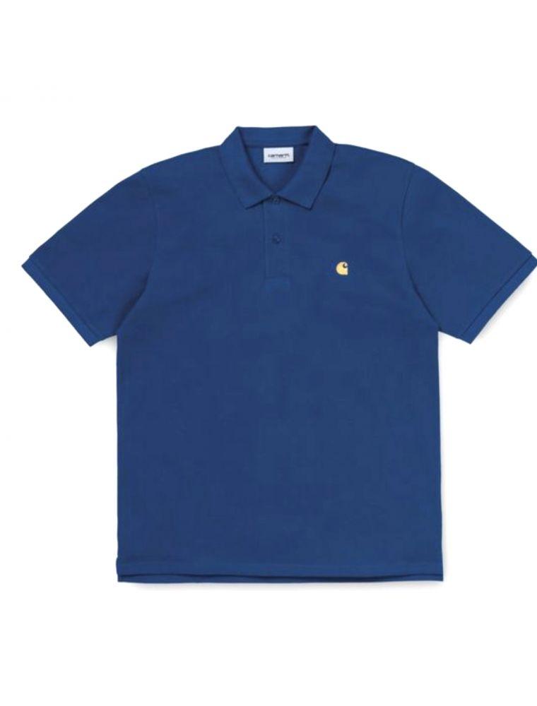 CARHI0238070308Y90 Camiseta S/S Chase Hombre - Azul Claro - Fabbrica Ski Sises Biella