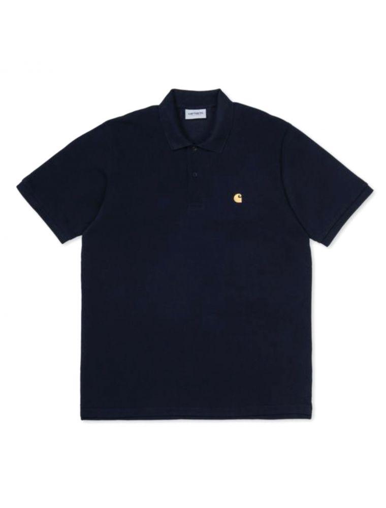 CARHI023807031C90 Mann S/S Chase T-shirt - Blau - Fabbrica Ski Sises Biella