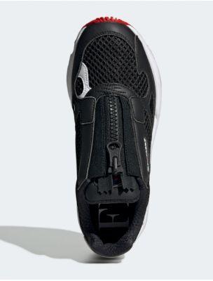 ADIDEF3644 Zapatillas Falcon Zip Mujer - Negro - Fabbrica Ski Sises Biella