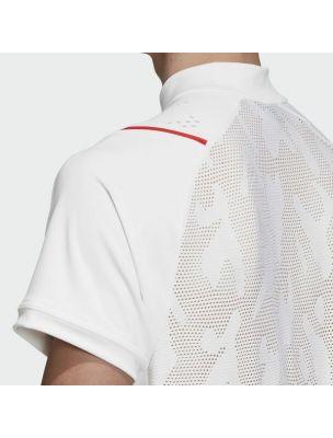 ADIDEA3161 Camiseta Stella McCartney Court Hombre - Blanco - Fabbrica Ski Sises Biella