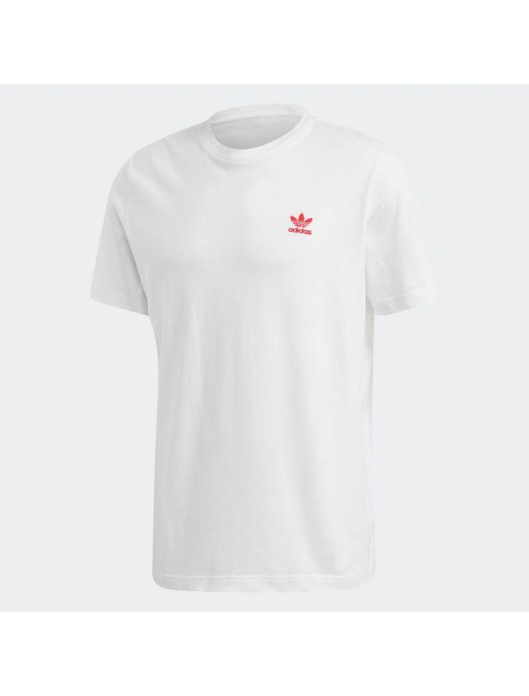 ADIDGD2534 T-shirt Trefoil Essential Homme - Blanc - Fabbrica Ski Sises Biella