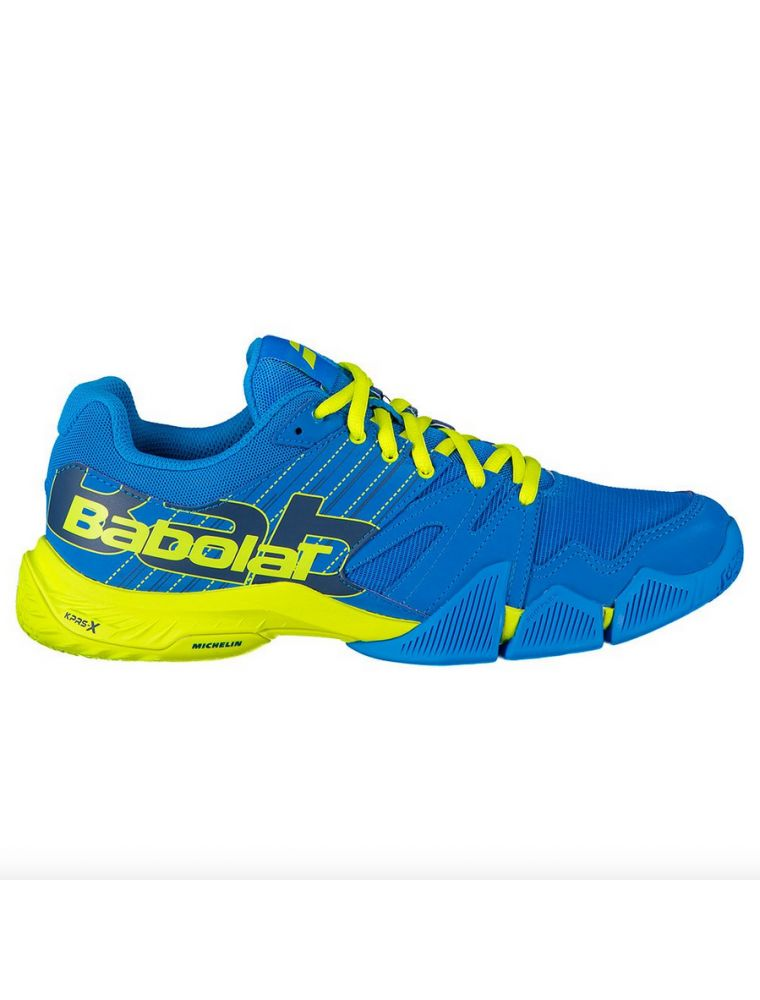 BABO30S20689 Men's da Padel Pulsa Padel Shoes - Blue - Fabbrica Ski Sises Biella