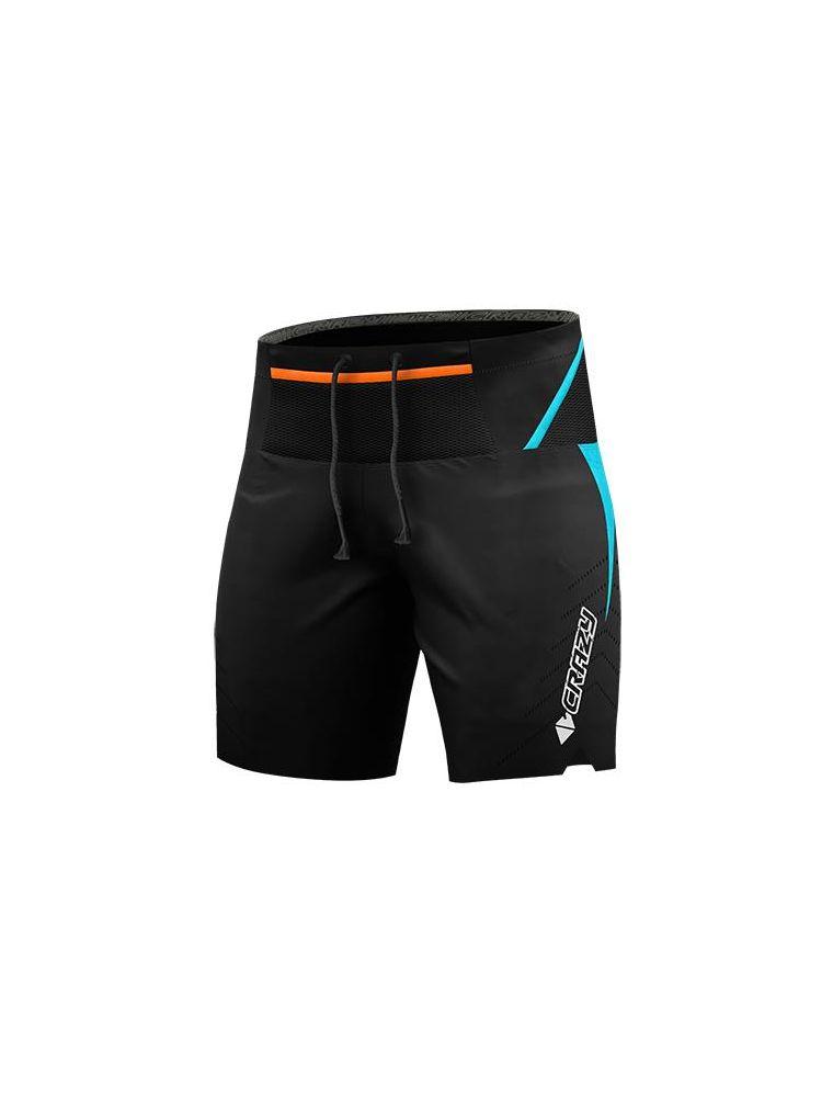 CRAZS2001521824LG Pantalones cortos Flash 24GL Hombre - Naranja - Fabbrica Ski Sises Biella
