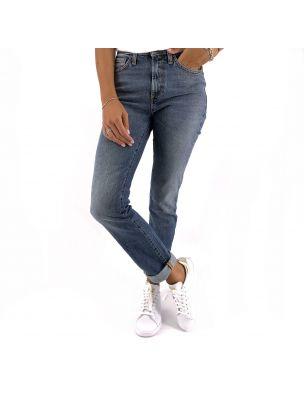 ROYRA20RND182D394146 Flo Cut Trousers - Denim - Fabbrica Ski Sises Biella