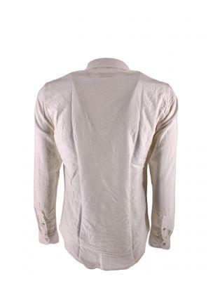 BDBATEXANA/TC172100 Men's Ltexana Shirt - White - Fabbrica Ski Sises Biella