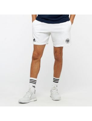 ADIDCE1412 Pantalones cortos Roland Garros Short Hombre - Blanco - Fabbrica Ski Sises Biella