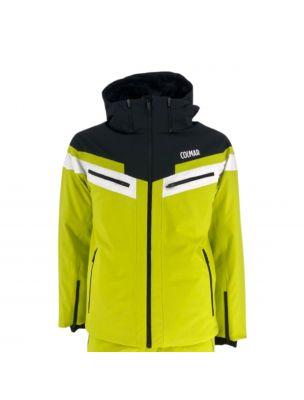 COLM13561VC301 Chaqueta Sapporo-Rec 1356 1VC301 Colmar Hombre - Amarillo - Fabbrica Ski Sises Biella